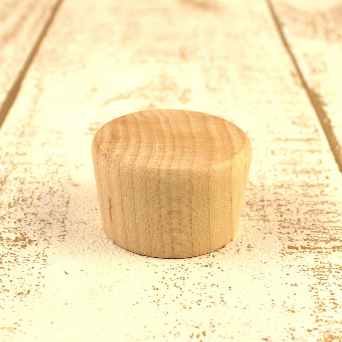 即日 ハーバリウム瓶専用 木製キャップ(単品) メープル《花資材・道具 ハーバリウム材料 ハーバリウム オイル》