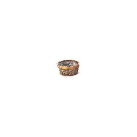 カルチベーター/スプリットバンブーアレンジ皿S/017271【01】【取寄】[20個]《 花器、リース 花器・花瓶 バスケット(花かご) 》