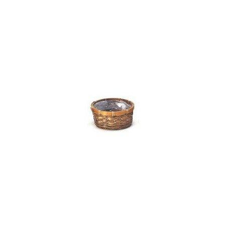 カルチベーター/スプリットバンブーアレンジ皿M/017272【01】【取寄】[20個]《 花器、リース 花器・花瓶 バスケット(花かご) 》