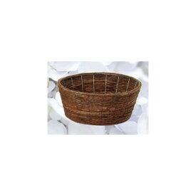 カルチベーター/バナナ皮丸型寄鉢用籠L/011332【01】【取寄】《 花器、リース 花器・花瓶 バスケット(花かご) 》