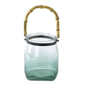 SPICE/enrich バンブーハンドルガラスキャンドル用ベース グリーン Sサイズ/SRGH1101GR【01】【01】【取寄】