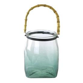SPICE/enrich バンブーハンドルガラスキャンドル用ベース グリーン Lサイズ/SRGH1103GR【01】【01】【取寄】