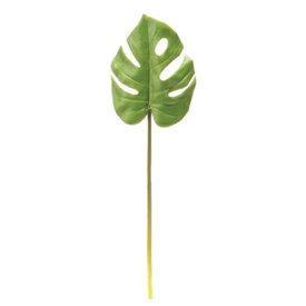 VT−R212モンステラリーフS/65-721200-0【01】【取寄】《 造花(アーティフィシャルフラワー) 造花葉物、フェイクグリーン モンステラ 》