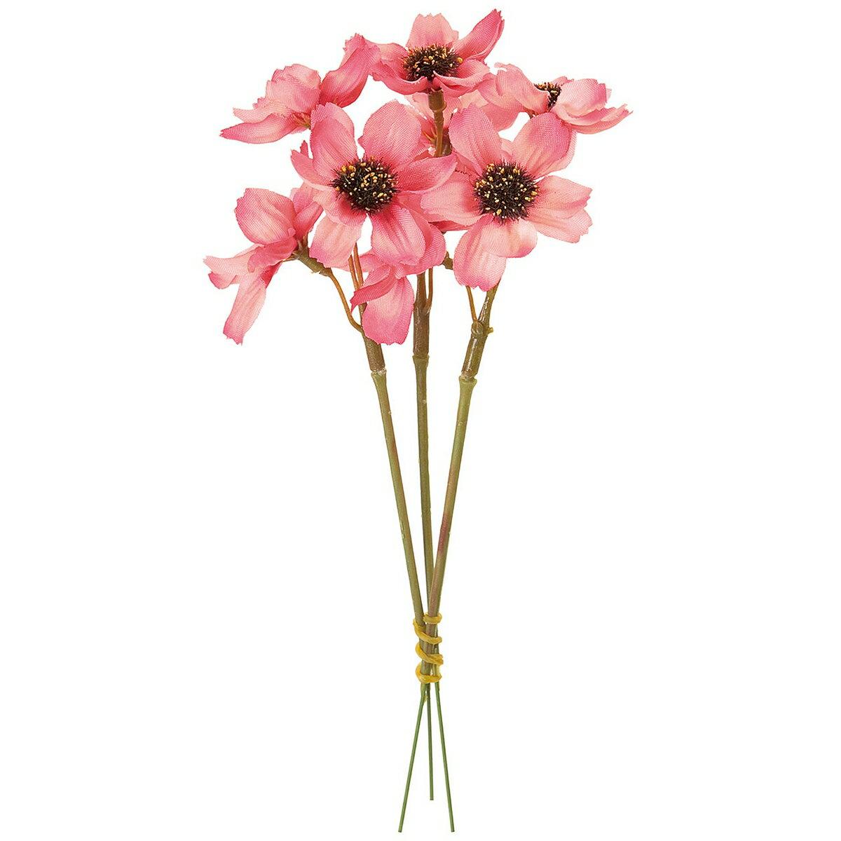 【造花】MAGIQ(東京堂)/コスモスピック #52 HOTPK ホットピンク 3本/FM004215-052【01】【取寄】《 造花(アーティフィシャルフラワー) 造花 花材「か行」 コスモス 》