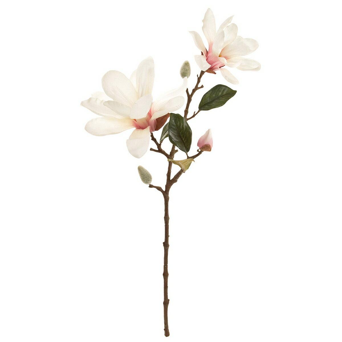 【造花】東京堂(MAGIQ)/サリューマグノリア #48 CR/PK/FM003717-048【01】【取寄】《 造花(アーティフィシャルフラワー) 造花 花材「ま行」 モクレン(木蓮)・マグノリア 》