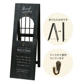 GREENHOUSE/BIGリースボード ブラック/4274-BK【01】【取寄】店舗ディスプレイ 店舗ディスプレイ用品 イーゼル 手作り 材料