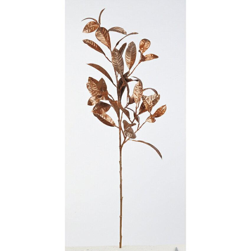 【造花】アスカ/クロトンスプレー NO.028E カッパー/A-43060-28E【01】【取寄】《 造花(アーティフィシャルフラワー) 造花葉物、フェイクグリーン その他の造花葉物・フェイクグリーン 》