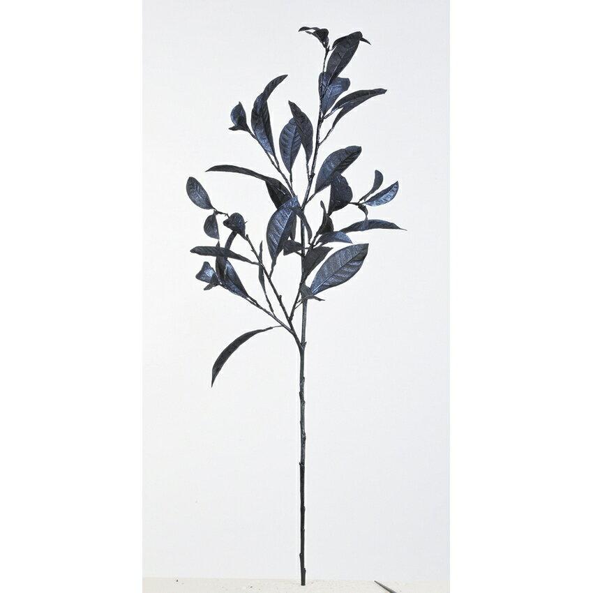 【造花】アスカ/クロトンスプレー NO.099 ネイビーブラック/A-43061-99【01】【取寄】《 造花(アーティフィシャルフラワー) 造花葉物、フェイクグリーン その他の造花葉物・フェイクグリーン 》