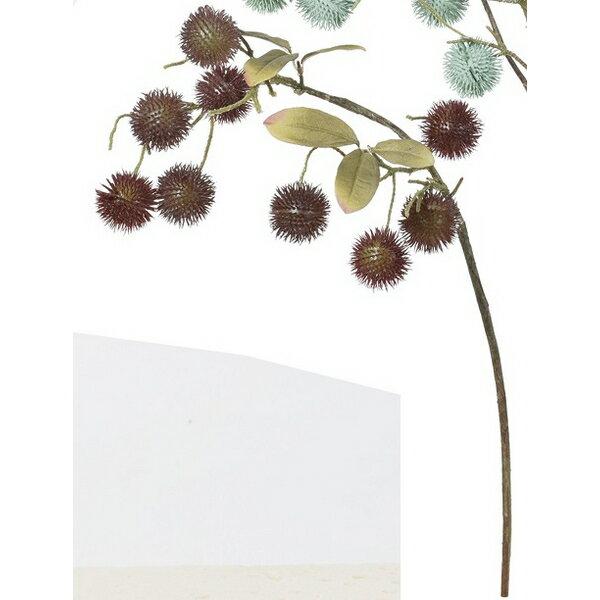 【造花】アスカ/チャイブ NO.015 バーガンディ/A-47811-15【01】【取寄】《 造花(アーティフィシャルフラワー) 造花 花材「た行」 その他「た行」造花花材 》
