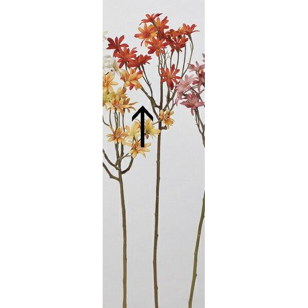 【造花】アスカ/アスタースプレー×18 NO.030R オレンジレッド/A-33474-30R【01】【取寄】《 造花(アーティフィシャルフラワー) 造花 花材「あ行」 アスター 》