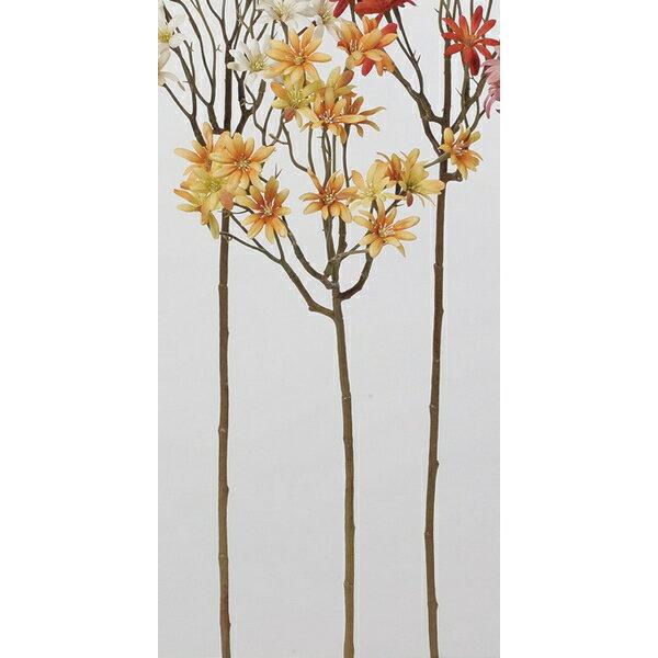 【造花】アスカ/アスタースプレー×18 NO.030 オレンジ/A-33474-30【01】【取寄】《 造花(アーティフィシャルフラワー) 造花 花材「あ行」 アスター 》