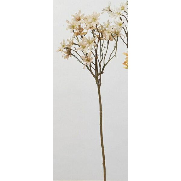 【造花】アスカ/アスタースプレー×18 NO.008 ベージュ/A-33474-8【01】【取寄】《 造花(アーティフィシャルフラワー) 造花 花材「あ行」 アスター 》
