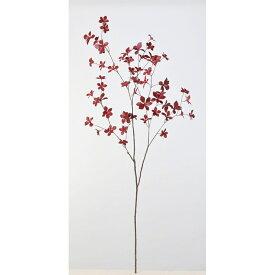 【造花】アスカ/ドウダン #002 レッド/A-43035-2【01】【01】【取寄】《 造花(アーティフィシャルフラワー) 造花枝物 ドウダンツツジ 》