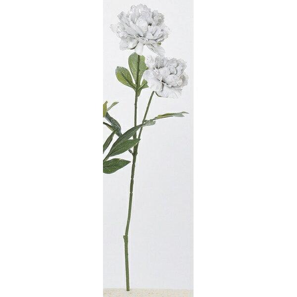 【造花】アスカ/ピオニー×2 NO.063S シルバーグレイ/AX69086-63S【01】【取寄】《 造花(アーティフィシャルフラワー) 造花 花材「さ行」 シャクヤク(芍薬)・ボタン(牡丹)・ピオニー 》