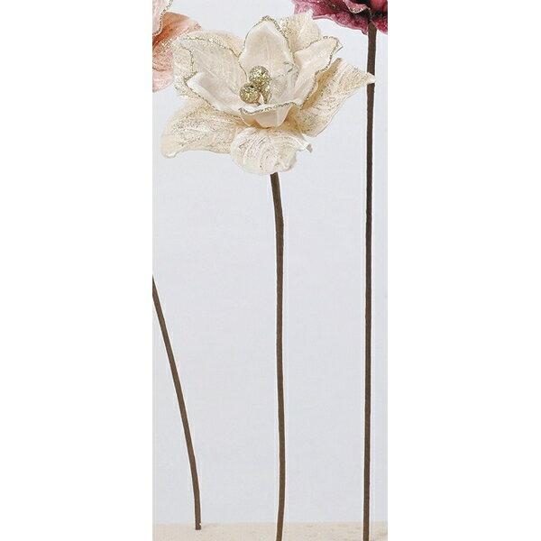 【造花】アスカ/マグノリア #011 クリームホワイト/AX69310-11【01】【取寄】《 造花(アーティフィシャルフラワー) 造花 花材「ま行」 モクレン(木蓮)・マグノリア 》