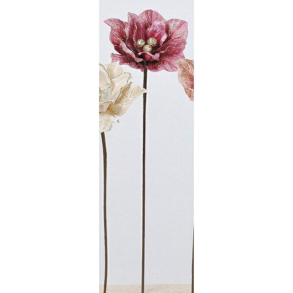 【造花】アスカ/マグノリア #015C バーガンディクリーム/AX69310-15C【01】【取寄】《 造花(アーティフィシャルフラワー) 造花 花材「ま行」 モクレン(木蓮)・マグノリア 》