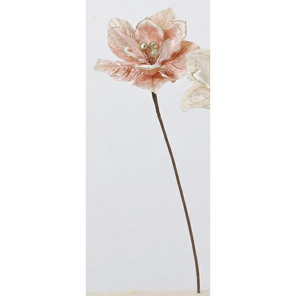 【造花】アスカ/マグノリア NO.004 ピーチ/AX69310-4【01】【取寄】《 造花(アーティフィシャルフラワー) 造花 花材「ま行」 モクレン(木蓮)・マグノリア 》