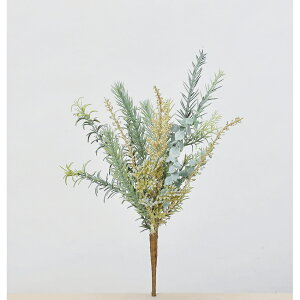 【造花】アスカ/ローズマリーミックスブッシュ/AX69240【01】【取寄】造花(アーティフィシャルフラワー) 造花葉物、フェイクグリーン ハーブ 手作り 材料