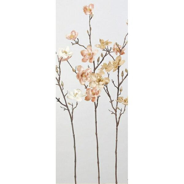 【造花】アスカ/マグノリア×7 つぼみ×7 #003S ソフトピンク/A-73303-3S【01】【取寄】《 造花(アーティフィシャルフラワー) 造花 花材「ま行」 モクレン(木蓮)・マグノリア 》