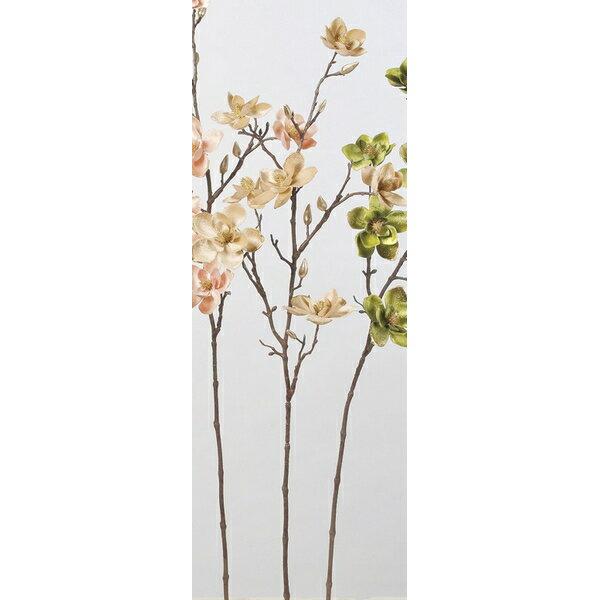 【造花】アスカ/マグノリア×7 つぼみ×7 NO.008 ベージュ/A-73303-8【01】【取寄】《 造花(アーティフィシャルフラワー) 造花 花材「ま行」 モクレン(木蓮)・マグノリア 》