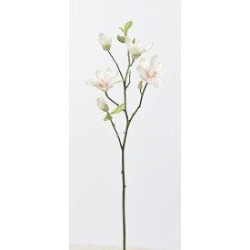 【造花】アスカ/マグノリア×3 つぼみ×4 #001P ホワイトピンク/A-73297-1P【01】【01】【取寄】《 造花(アーティフィシャルフラワー) 造花 花材「ま行」 モクレン(木蓮)・マグノリア 》