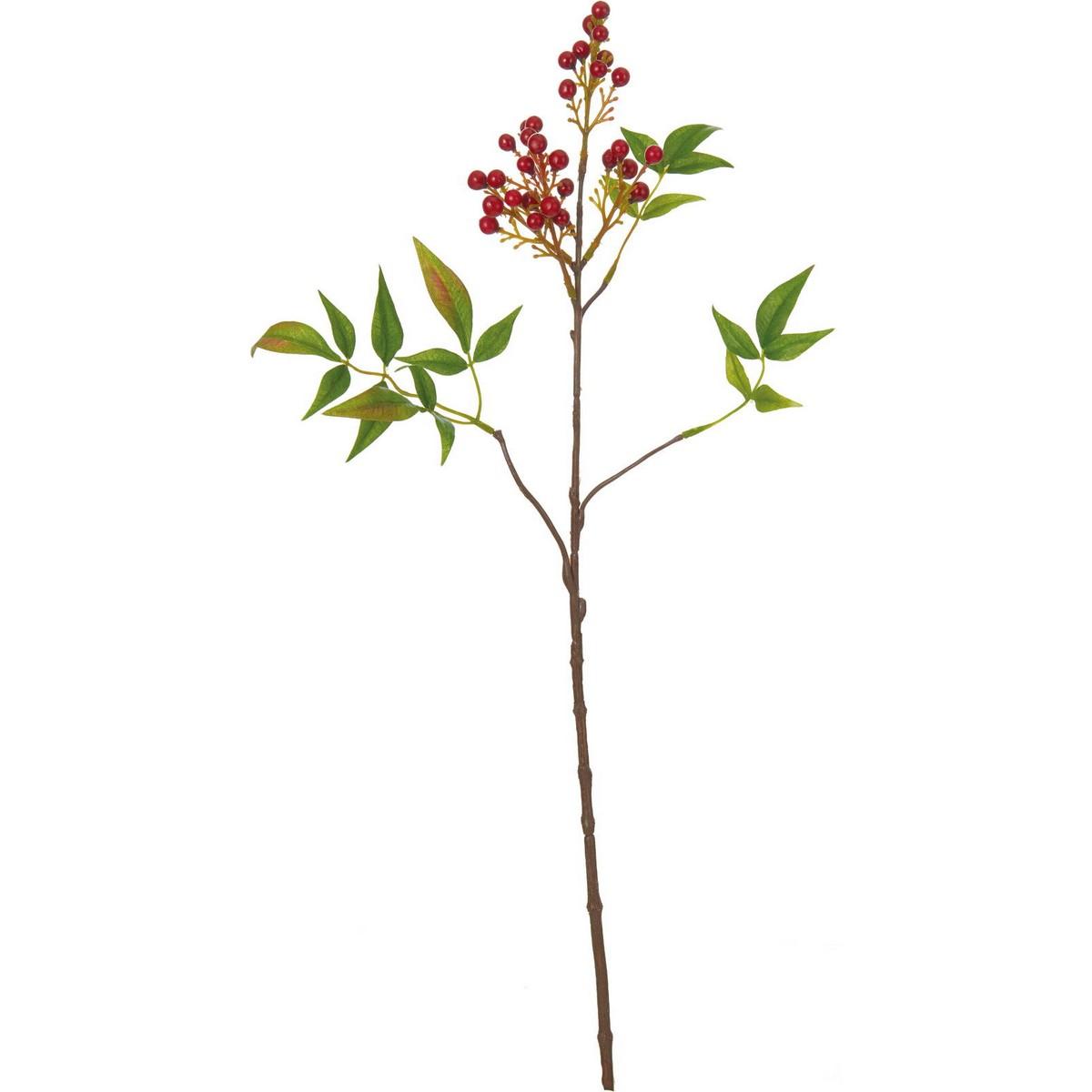 【造花】YDM/ナンテン/FS-5191AR【01】【取寄】《 造花(アーティフィシャルフラワー) 造花実物、フェイクフルーツ ナンテン 》