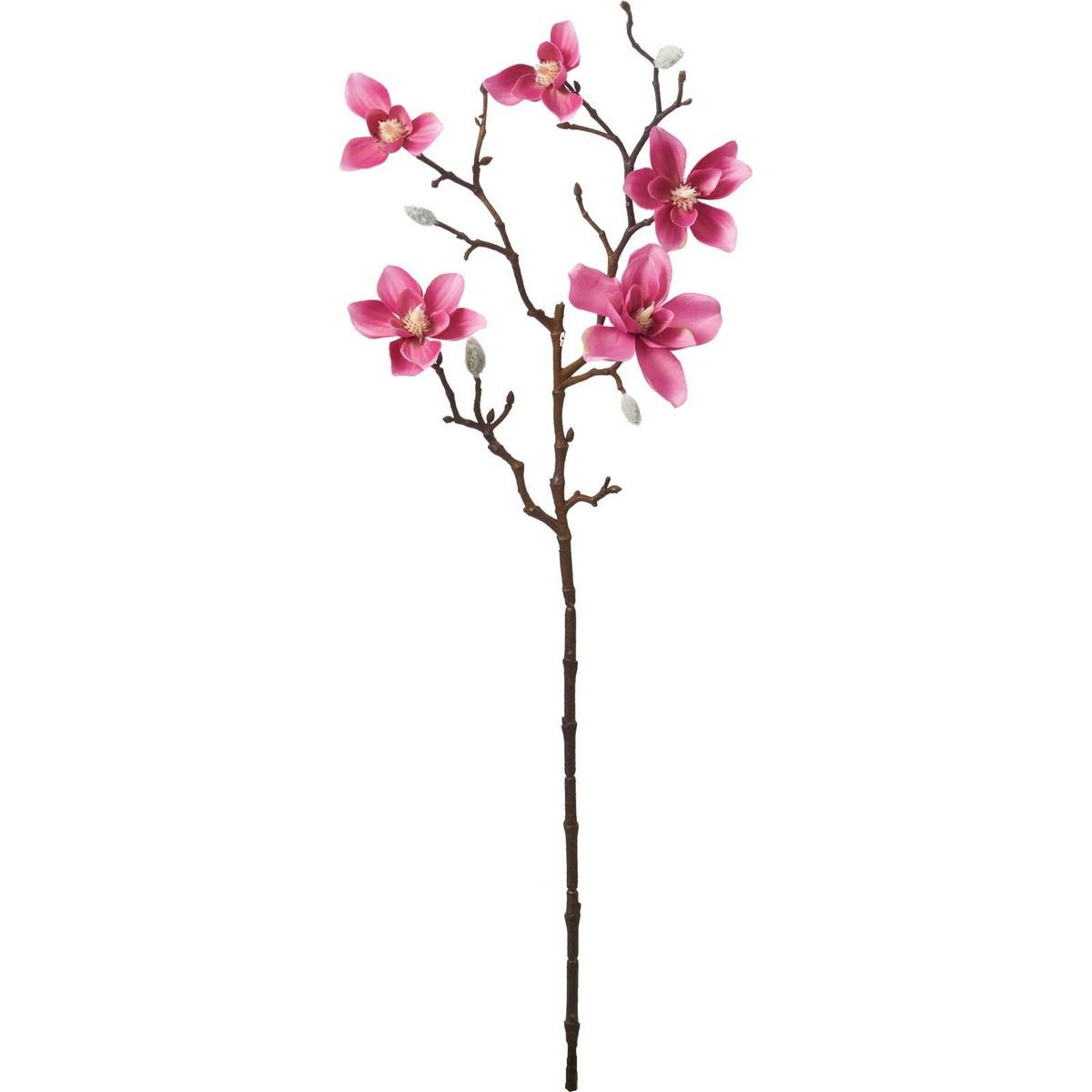 【造花】YDM/モクレンスプレー/FA-7200BTY【01】【01】【取寄】《 造花(アーティフィシャルフラワー) 造花 花材「ま行」 モクレン(木蓮)・マグノリア 》