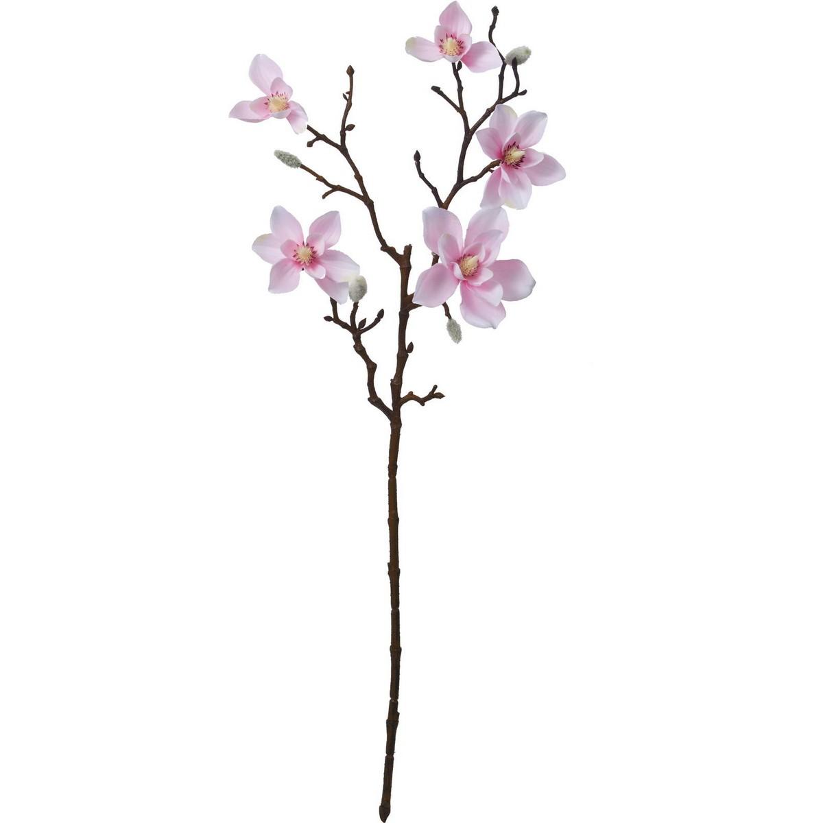 【造花】YDM/モクレンスプレー/FA-7200P【01】【01】【取寄】《 造花(アーティフィシャルフラワー) 造花 花材「ま行」 モクレン(木蓮)・マグノリア 》