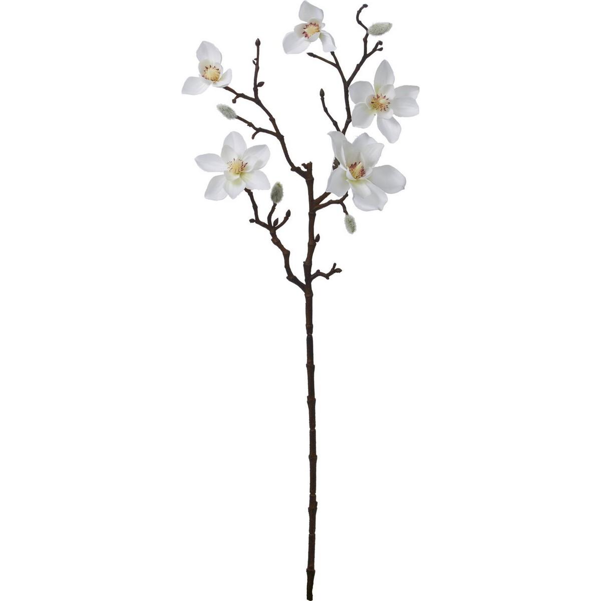 【造花】YDM/モクレンスプレー/FA-7200W【01】【01】【取寄】《 造花(アーティフィシャルフラワー) 造花 花材「ま行」 モクレン(木蓮)・マグノリア 》