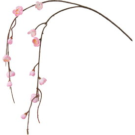 【造花】YDM/シダレウメ/FS-5300P【01】【01】【取寄】《 造花(アーティフィシャルフラワー) 造花 花材「あ行」 ウメ(梅) 》