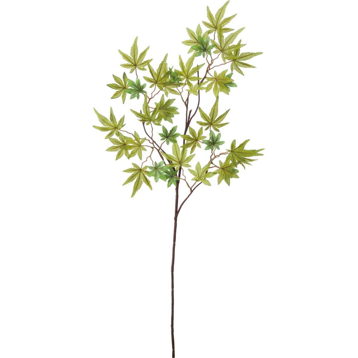 【造花】YDM/イロハモミジ/FS-9034GR【01】【取寄】《 造花(アーティフィシャルフラワー) 造花枝物 モミジ・イチョウ 》