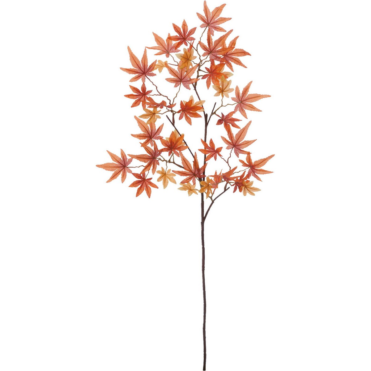 【造花】YDM/イロハモミジ/FS-9034OR【01】【取寄】《 造花(アーティフィシャルフラワー) 造花枝物 モミジ・イチョウ 》