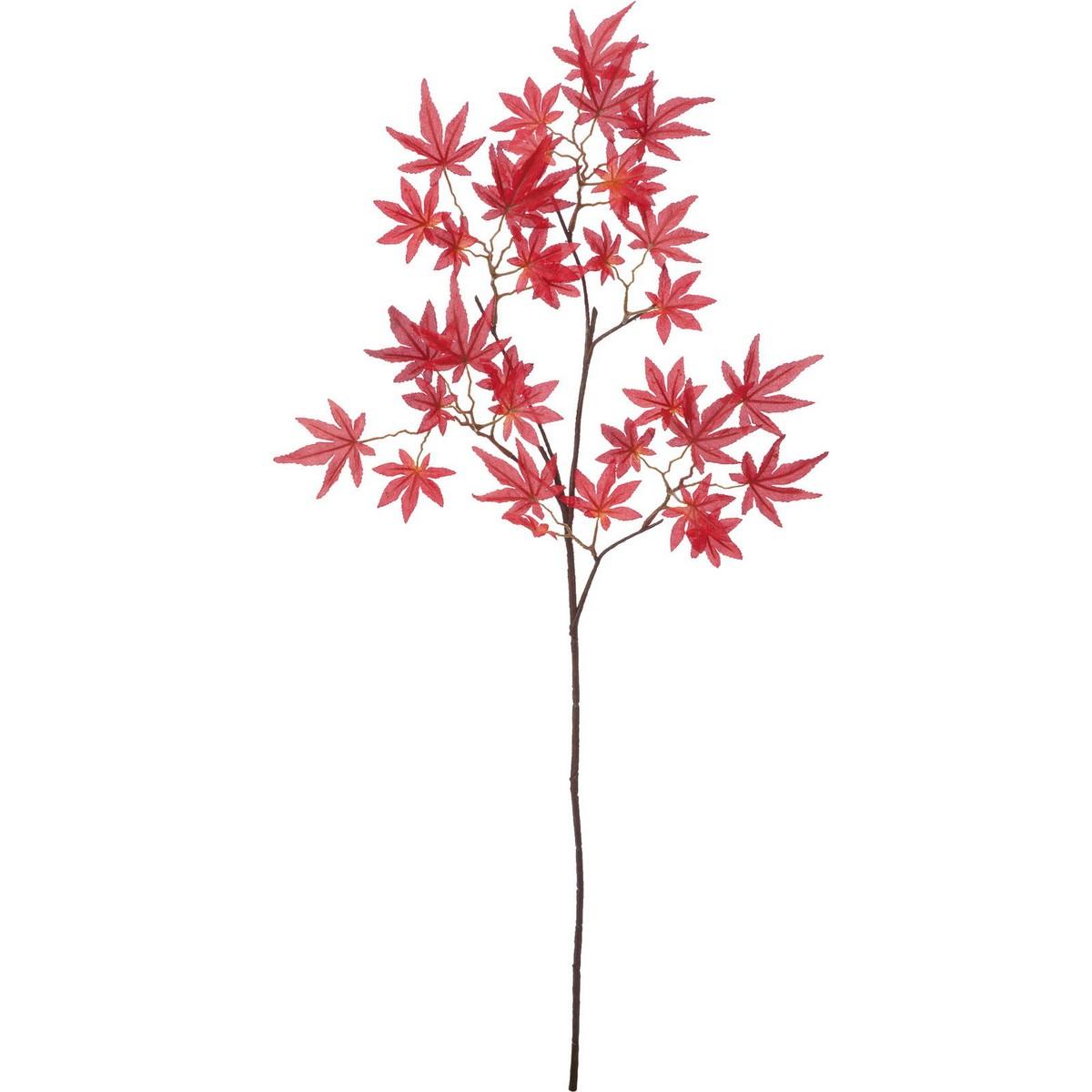 【造花】YDM/イロハモミジ/FS-9034R【01】【取寄】《 造花(アーティフィシャルフラワー) 造花枝物 モミジ・イチョウ 》