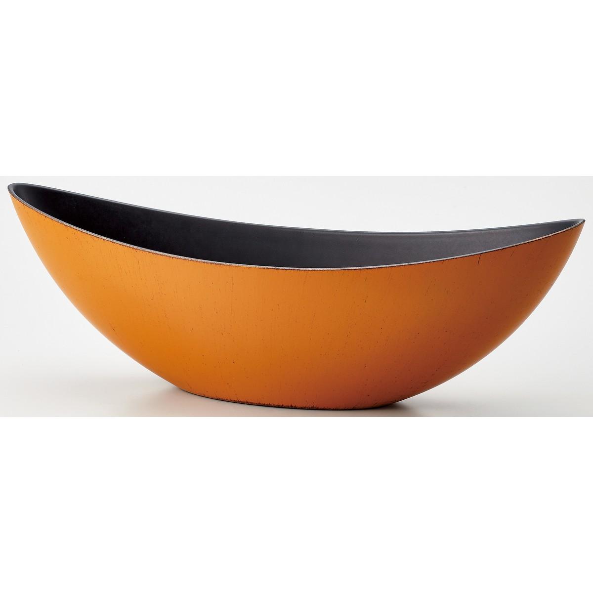 WABIボートL MOI−63 MOI−631 イブシヤマブキ/134-631-5【01】【取寄】《 花器、リース 花器・花瓶 プラスチック・アクリル花器 》