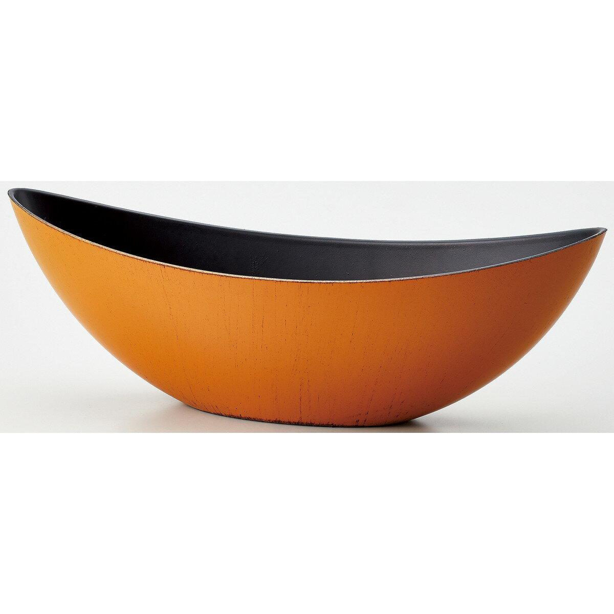 WABIボートM MOI−65 MOI−654 イブシヤマブキ/134-654-5【01】【取寄】《 花器、リース 花器・花瓶 プラスチック・アクリル花器 》