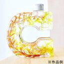 即日 NAMEW(ネイミュー)/イニシャルハーバリウム用 アルファベットPETボトル ≪C≫ 290ml《ハーバリウム 瓶・ボトル…