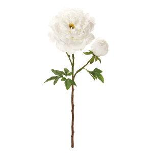 【造花】MAGIQ(東京堂)/ミレイユピオニー #1 WHITE ホワイト/FM009010-001【01】【取寄】造花(アーティフィシャルフラワー) 造花 花材「さ行」 シャクヤク(芍薬)・ボタン(牡丹)・ピオニー