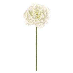 【造花】MAGIQ(東京堂)/デューブライトピオニー #1 ホワイト/FM004864-001【01】【取寄】造花(アーティフィシャルフラワー) 造花 花材「さ行」 シャクヤク(芍薬)・ボタン(牡丹)・ピオニ