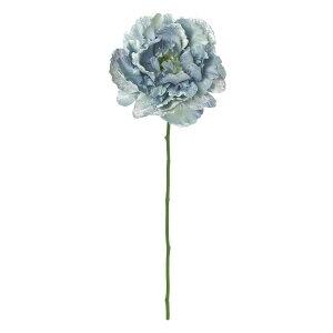 【造花】MAGIQ(東京堂)/デューブライトピオニー #5 ブルー/FM004864-005【01】【取寄】造花(アーティフィシャルフラワー) 造花 花材「さ行」 シャクヤク(芍薬)・ボタン(牡丹)・ピオニー
