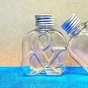 即日 NAMEW(ネイミュー)/イニシャルハーバリウム用 アルファベットPETボトル・ミニ ≪&≫ 111ml《ハーバリウム 瓶…