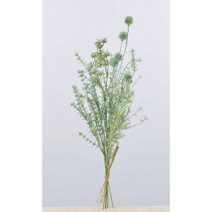 即日 【造花】アスカ/ミックスブーケ #051A グリーン/A-43103-051A造花(アーティフィシャルフラワー) 造花葉物、フェイクグリーン ハーブ 手作り 材料