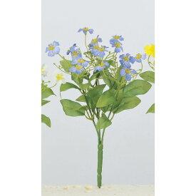 【造花】アスカ/インパチェンスブッシュ #009 ブルー/A-33656-009【01】【取寄】