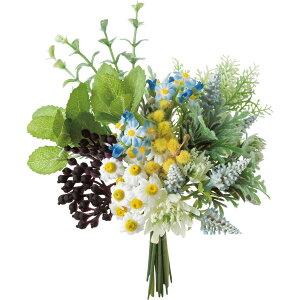 【造花】YDM/ハーブグリーンミックスバンドル ブルー/FB-2519-BLU【01】【取寄】造花(アーティフィシャルフラワー) 造花葉物、フェイクグリーン ハーブ 手作り 材料
