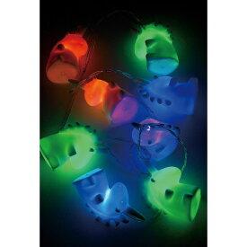 SPICE/カラフルLEDガーランド ユニコーン 8球 1.7m/RVXH2030B【07】【取寄】[2個]