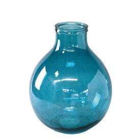 SPICE/VALENCIA リサイクルガラスフラワーベース TRES ブルー/VGGN1030BL【07】【取寄】
