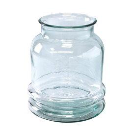 SPICE/VALENCIA リサイクルガラスフラワーベース CINCO クリア/VGGN1050【01】【取寄】[2個]
