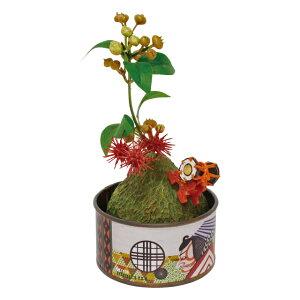 丸和貿易/浮世缶詰 盆栽 浮世歌舞伎/400868301【01】【取寄】