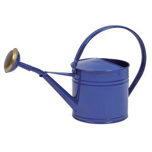 DoLABO/ブリキウォータリングカン1.5L ネイビー/63330【01】【取寄】[2個]ガーデニング用品 ツール(道具) じょうろ・散水用具 手作り 材料