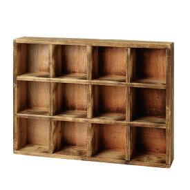 花ごころDo!/ビンテージ コレクションボックス 4x3/63694【01】【取寄】[4個]《 ガーデニング用品 ガーデン家具 ボックス・カート 》