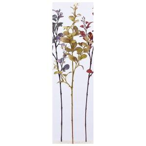 【造花】アスカ/ユーカリ #010B イエローブラウン/A-43277-10B【01】【取寄】